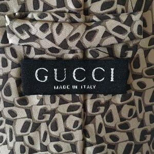 Unique, stylish Gucci tie in excellent condition